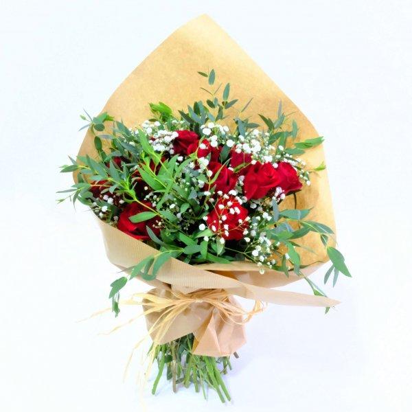 Ramo De Rosas Rojas Saragoça