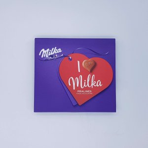 Chocolates En Forma De Corazón De Milka Enviados A Casa