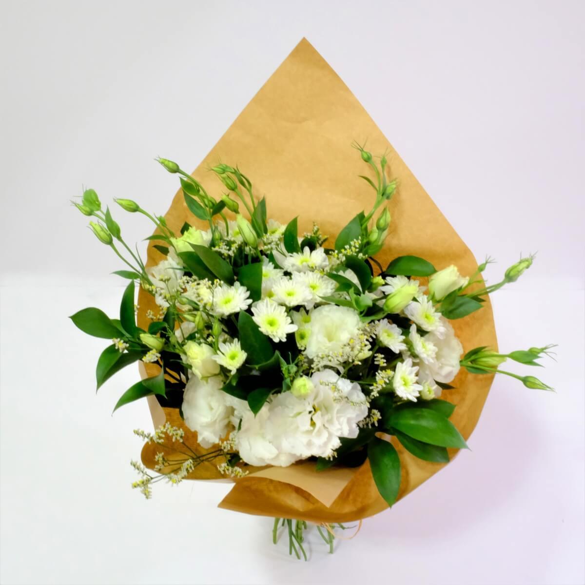 Hermoso Arreglo De Flores Blancas Mixtas