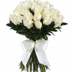 Ramo De Rosas Blancas Entrega A Domicilio