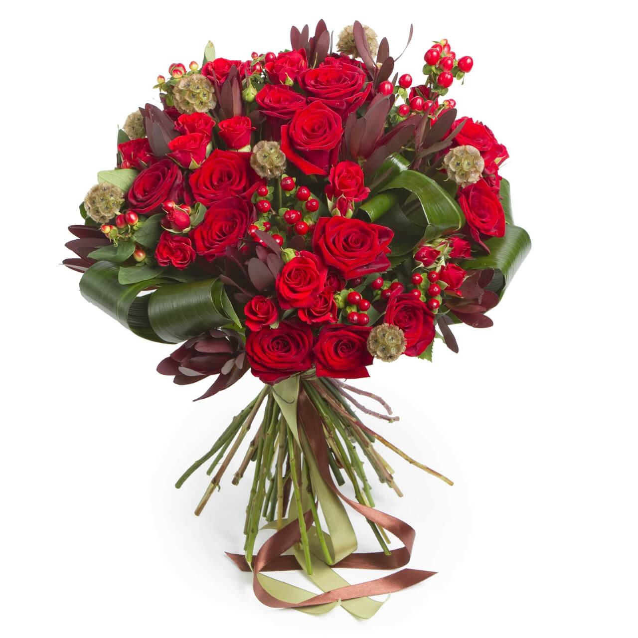 Ramo De Rosas Rojas Valência
